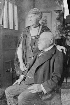 Rebecca Cohen with her husband George Judah Cohen, c.1925, Fairfax Corporation