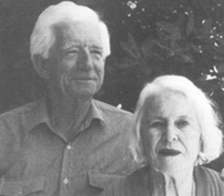 Tony White, with his wife, n.d.