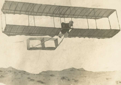 George Taylor, flying at Narrabeen, 1909